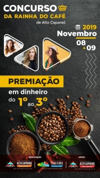 Concurso da Rainha do Café.